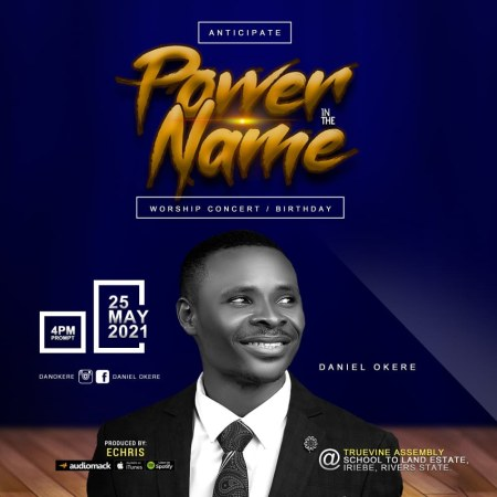 Photo Art of Daniel Okere for Power In The Name